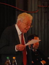 """Peter Landau auf der Auftaktveranstaltung der """"Seeheimer"""" 2014"""
