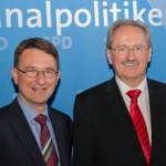Tim Weidner und Christian Ude