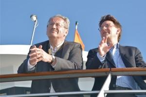 Christian Ude und Tim Weidner